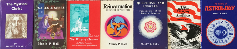 Manly P  Hall's Books with Topic Listings
